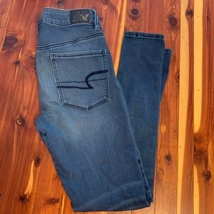 American Eagle high rise jeggings size 4r